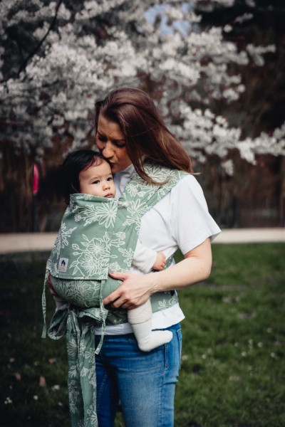 LIMAS Baby Carrier - Blossom Green Lily