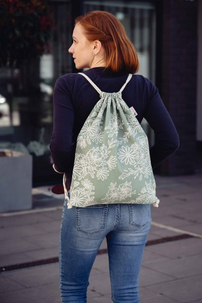 LIMAS Rucksack - Blossom Green Lily