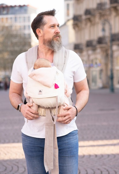 LIMAS Baby Carrier - Nature/Beige