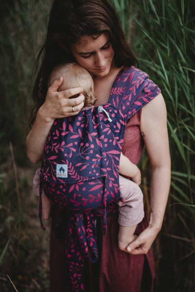 LIMAS Baby Carrier - Flora Poppy Pink